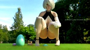 2B Celebrate Easter with Big Eggs