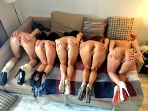 Ass Party on High Heels