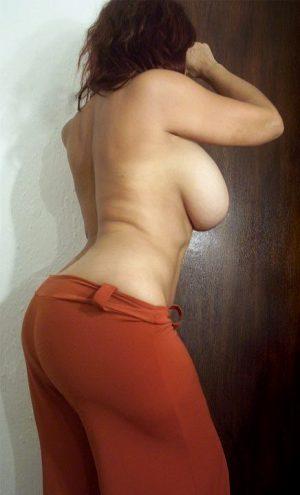 Back side big boobs naked bhabhi South Indian