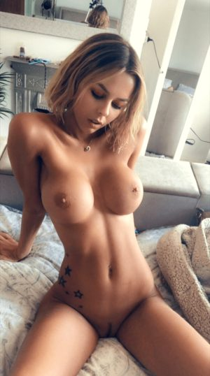 Big Boobs Brunette with Tattoos