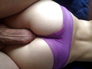 Big dick on perfect ass