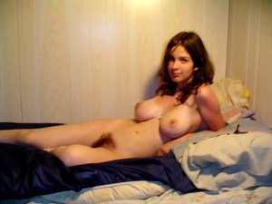 big tits and a hairy bush–the way it should be