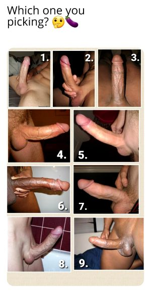 Choose Your Cock