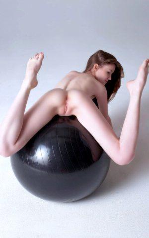 Emily Bloom having a ball.