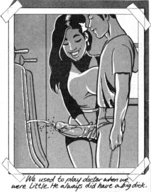 Erotic toons – Playing doctor