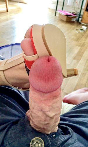 Great foot job