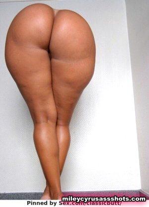 hot black ass bent over butt naked