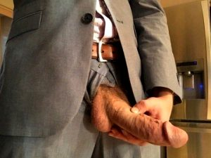 Juicy business boner, I'll suck and fuck for a raise sir.