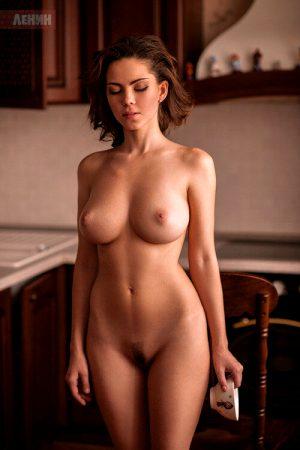 Ksyusha Egorova brunette with amazing body