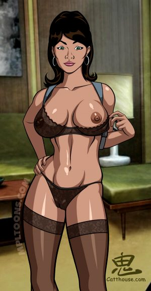 Lana Kane from Archer nude by Oni