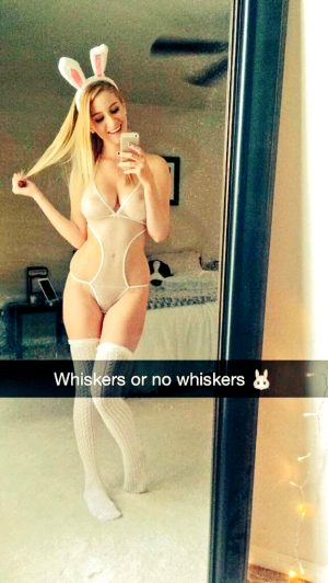 Leaked Snapchat Pic Of Hot Blonde