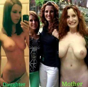 Like mother like daughter..