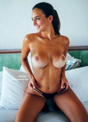 Maria Luz Diaz on bed
