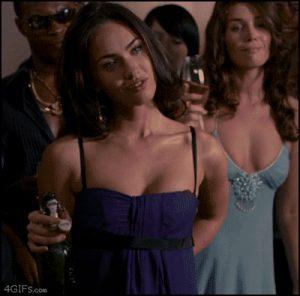 Megan Fox undressing