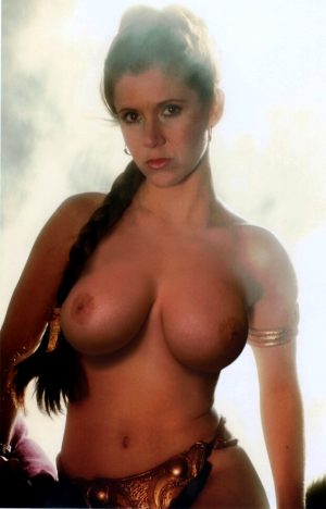 My humble attempt at a topless Slave Leia