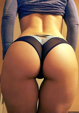 Nice round butts