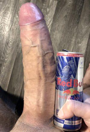 Redbull look up big dick
