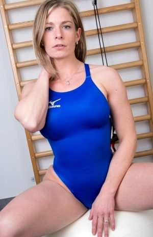 Sexy mom in a swimsuit. Mature swimsuit. Swimsuit mom. Mature swimsuit.