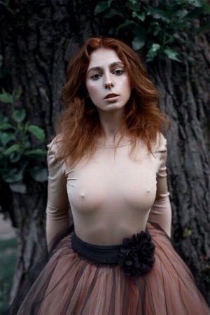 she looks really horny