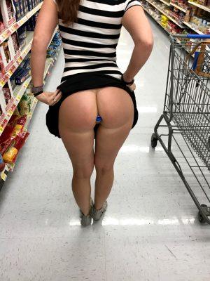 Slut in Walmart