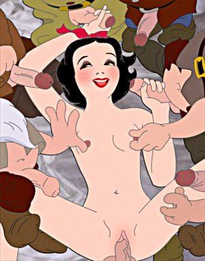 Snow White and All Seven Dwarfs