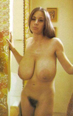 Vintage Big Saggy Natural Tits