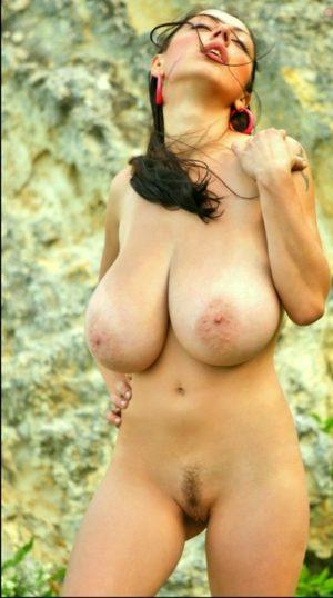 Wonderful Busty Babe Naked